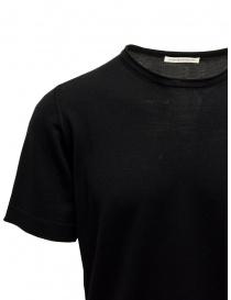Goes Botanical black T-shirt in merino wool price
