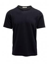 T-shirt Blu Goes Botanical Maniche Corte 100 3343 BLU order online