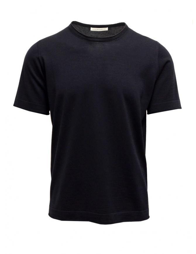 Blue Goes Botanical T-shirt Short Sleeves 100 3343 BLU mens t shirts online shopping
