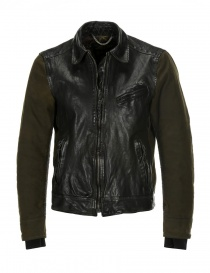 Rude Riders leather and Barbour tweed jacket P74456 BIKER