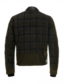Rude Riders leather and Barbour tweed jacket