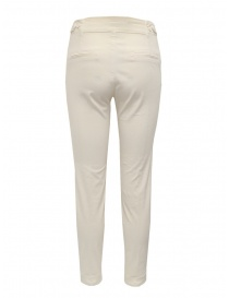 European Culture ivory chino trousers