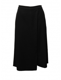European Culture black cropped skirt-pants online
