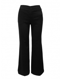 European Culture black flared pants 06PU 6663 1600 order online