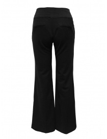 European Culture black flared pants