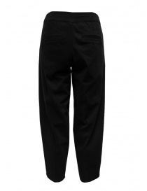 European Culture black trousers with pleats