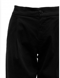 European Culture black trousers with pleats price
