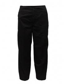 European Culture pantaloni cropped ergonomici neri online