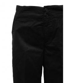 European Culture black ergonomic cropped pants price