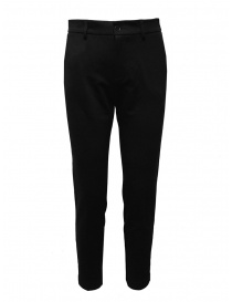 European Culture black pants in mixed viscose online