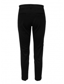 European Culture black pants in mixed viscose