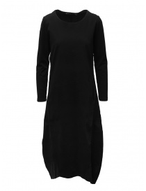 European Culture long black dress with long sleeves online