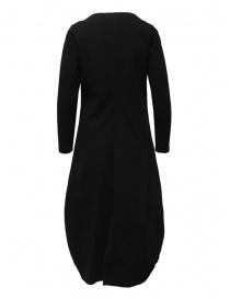 European Culture vestito lungo nero a maniche lunghe