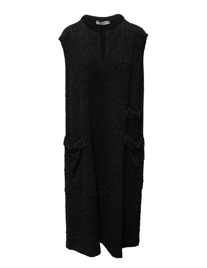 European Culture black 3D fantasy sleeveless dress 1700 2603 0600 womens dresses online shopping