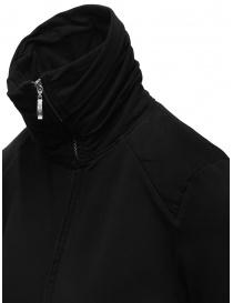 European Culture black long sweatshirt with zip price