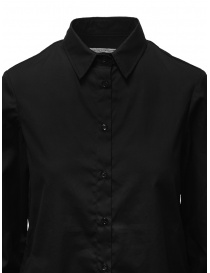 European Culture black shirt with buttons on the sides price