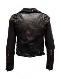 Rude Riders short biker jacket in black leather buy online