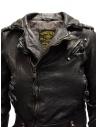 Rude Riders short biker jacket in black leather P55572 BIKER buy online