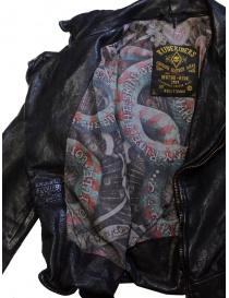 Rude Riders short biker jacket in black leather price