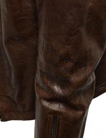 Rude Riders brown leather jacket for biker mens jackets buy online
