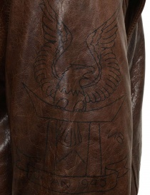 Rude Riders brown leather jacket for biker mens jackets price