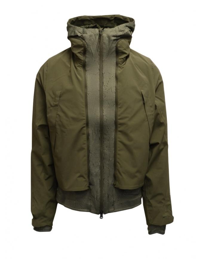 Descente X Byborre giacca 3 in 1 verde militare DX-G0258U GRFK giubbini uomo online shopping