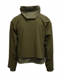 Descente X Byborre 3 in 1 military green jacket