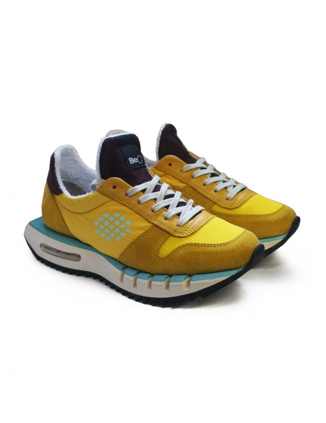 BePositive Cyber Run sneakers gialle F0WOCYBER01/NYM/YEL calzature donna online shopping