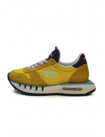 BePositive Cyber ​​Run yellow sneakers