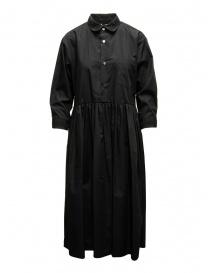 Abiti donna online: Miyao abito lungo a camicia colore nero