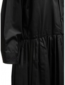 Miyao abito lungo a camicia colore nero prezzo