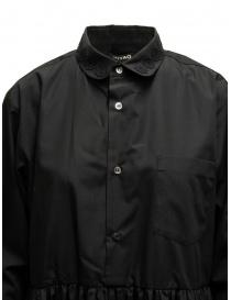 Miyao abito lungo a camicia colore nero abiti donna acquista online