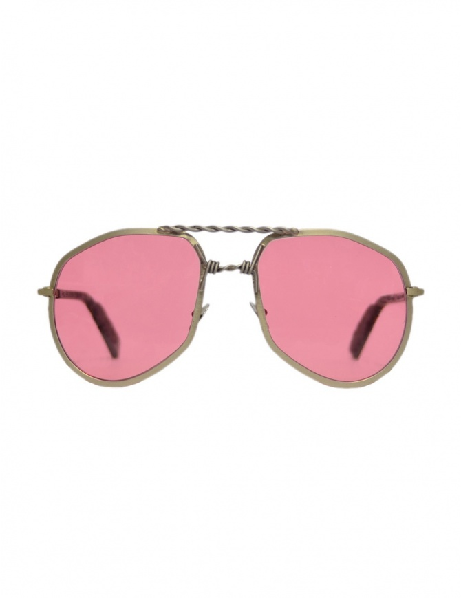Occhiale Paul Easterlin argento modello Eastwood EASTWOOD SILVER RAW occhiali online shopping