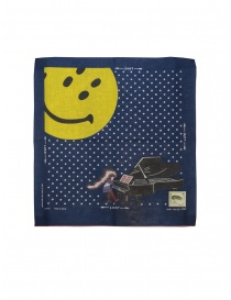 Kapital bandana Love & Peace and Beethoven with smiley online