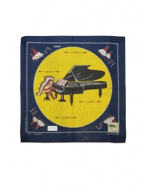 Kapital bandana Love & Peace and Beethoven piano moon online