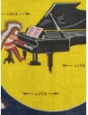 Kapital bandana Love & Peace and Beethoven piano moonshop online sciarpe