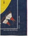 Kapital bandana Love & Peace and Beethoven piano moon Z20009XG515 NAVY prezzo