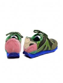 Kapital Momotaro sneakers in olive green womens shoes buy online