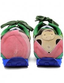 Kapital Momotaro sneakers in olive green