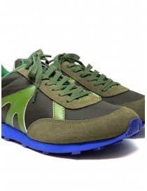 Kapital Momotaro sneakers in olive green womens shoes price