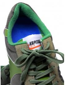 Kapital Momotaro sneakers in olive green buy online price