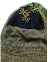 Kapital green bucket hat with embroidered patches K2003XH507 KHA price