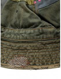 Kapital cappello a secchiello verde con toppe ricamate cappelli acquista online