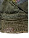 Kapital cappello a secchiello verde con toppe ricamate K2003XH507 KHA acquista online