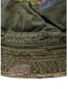 Kapital green bucket hat with embroidered patches K2003XH507 KHA buy online
