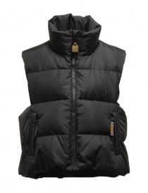 Kapital black sleeveless padded vest online