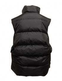 Kapital black sleeveless padded vest