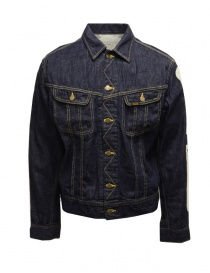Kapital denim jacket with embroidered skeleton online