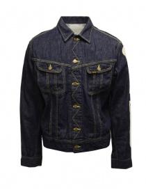 Kapital giubbino in jeans con scheletro ricamato online