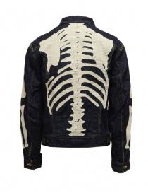 Kapital denim jacket with embroidered skeleton price